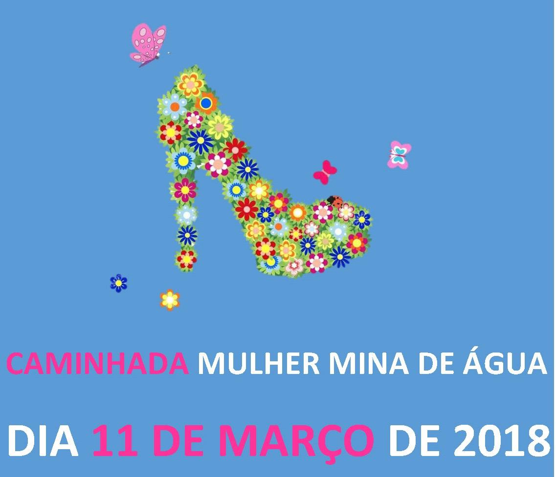 Caminhada Mulher Mina de Água 2018