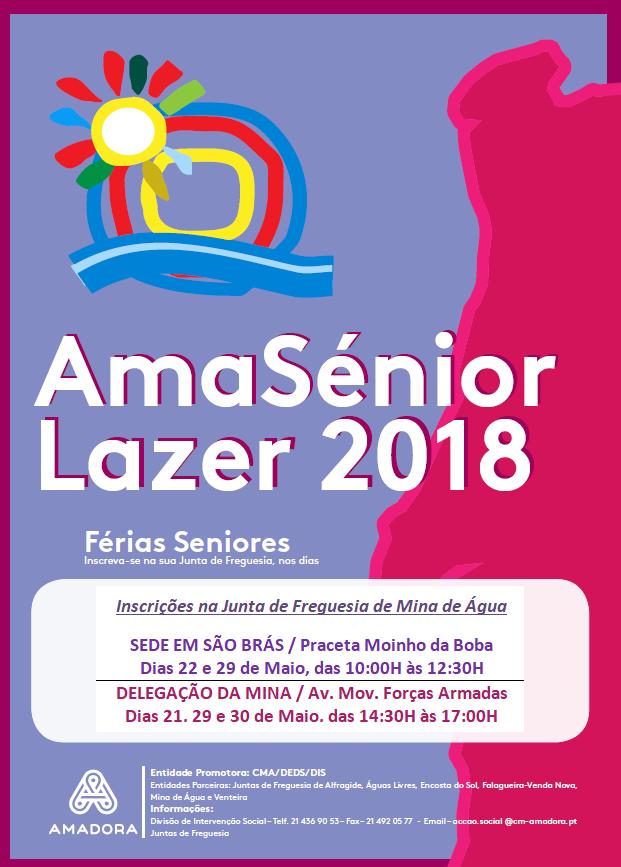 Ama Sénior – Lazer 2018